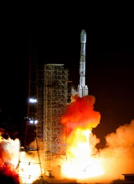 Beidou satellites are mainly launched using Long March 3 rocket family.