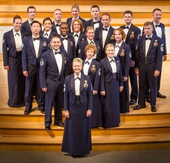 The Singing Sergeants is the official chorus of the United States Air Force.