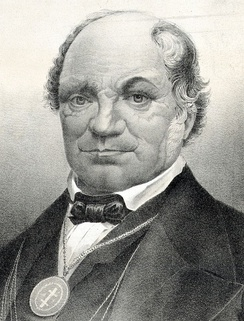 British-American Thomas Wildey (1782–1861) founder of the Washington Lodge No 1