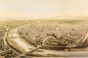 Valencia in 1832 by French Alfred Guesdon