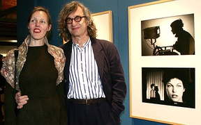 Wim and Donata Wenders at a photo exhibition at TIFF (2006)