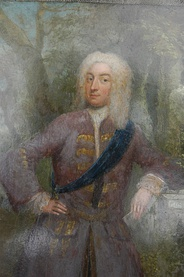 Knight of the Garter in the 1720s with Garter sash