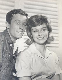 Fonda guest starring with Patty McCormack in The New Breed TV series, 1962