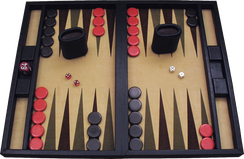 Backgammon includes chance events, but by some definitions is classified as a game of perfect information.