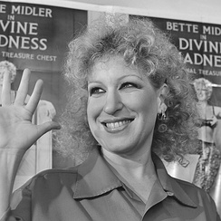 1981, in Amsterdam promoting the film Divine Madness (1980)