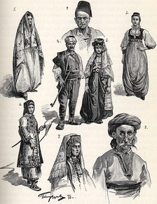 Bosnians at the time of the Austro-Hungarian occupation of Bosnia and Herzegovina.