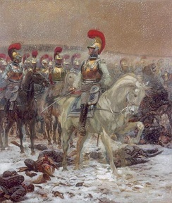 French Carabiniers-à-Cheval during the Russian Campaign