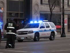 Chicago Police Department SUV, 2011
