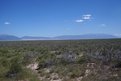 The high desert lands that make up the San Luis Valley in Southern Colorado