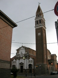 The former cathedral Santa Maria Assunta della Tomba