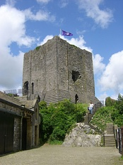 Clitheroe Castle, founded by Robert de Lacy