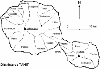 Округа (коммуны) Таити
