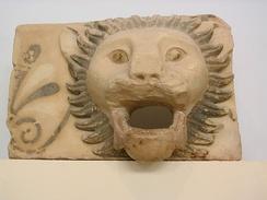 Водосток с львиной головой, Парфенон