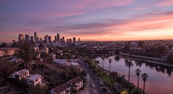 Los Angeles is the second most populous city in the U.S., after New York