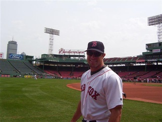 Kapler with the Boston Red Sox in 2004.