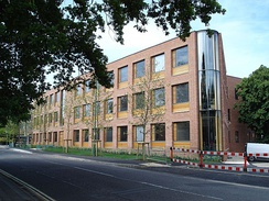 The George Thomas Student Services Building on Highfield Campus where the university management is located.