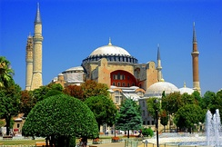 Hagia Sophia, Istanbul (formerly Constantinople), Turkey