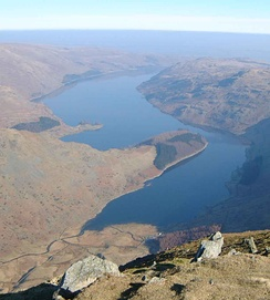 Haweswater Reservoir from Harter Fell