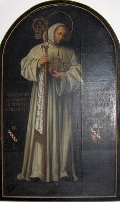 Bernard of Clairvaux, true effigy by Georg Andreas Wasshuber (1650–1732)