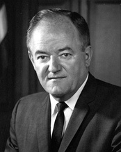 Alpha Phi Alpha honorary member Hubert H. Humphrey was the 38th Vice President of the United States.