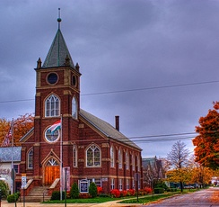 Hungarian Reformed Church Fairport Harbor, Ohio