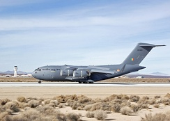 The IAF's first C-17, 2013