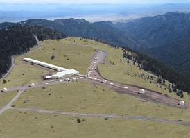 Magdalena Ridge Observatory (MRO), managed by New Mexico Tech's Office of Research and Economic Development, is located 20 miles (32 km) west of campus at an elevation of 10,500 feet (3,200 m) in the Cibola National Forest.