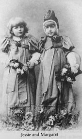 Daughters Jessie and Margaret
