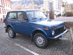 The 1977 Russian Lada Niva was the world's first purpose-designed unibody 4WD off-road car