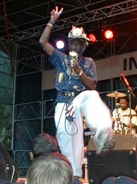 "Lee ""Scratch"" Perry was an early pioneer of the dub genre"
