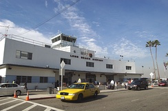Long Beach Airport's old terminal building