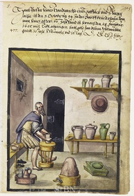 A potter at work, 1605