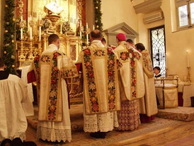 Pontifical High Mass in the Extraordinary Form of the Roman Rite