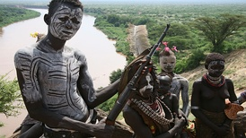 Children of the Omo Valley in Ethiopia