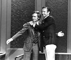 Dick Cavett and Jack Paar