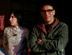 Carrie Brownstein and Fred Armisen, stars of the show.