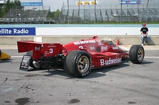 The Truesports March 86C driven by Bobby Rahal to the 1986 Indy 500 and CART championships