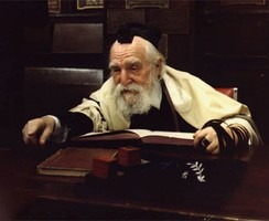 Rabbi Moshe Feinstein, a leading Rabbinical authority for Orthodox Judaism of the second half of the twentieth century.