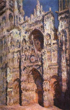 Rouen Cathedral, Full Sunlight, by Claude Monet, 1894.