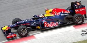 The Red Bull RB8, the 2012 Formula One World Championship winning car