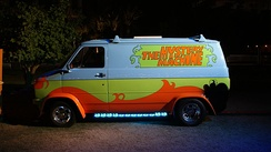 The Mystery Machine at San Diego Comic-Con International in 2013