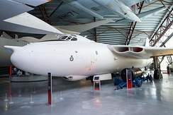 Valiant XD818 preserved at Royal Air Force Museum Cosford