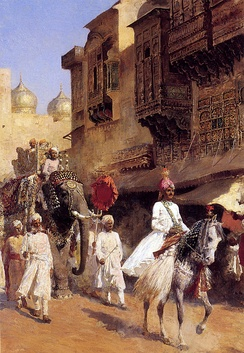 Indian Prince And Parade Ceremony (by Edwin Lord Weeks)