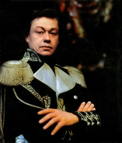 Nikolai Karachentsov as Rezanov in Juno and Avos stage portrait