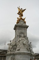 The Victoria Memorial, The Mall, London
