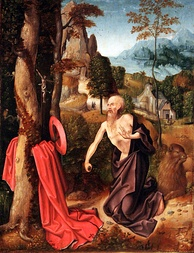Saint Jerome, unknown Southern Dutch artist, 1520, Hamburger Kunsthalle