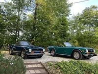 1972 and 1974 TR6