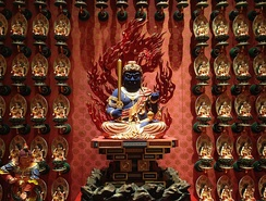 Acala at Buddha Tooth Relic Temple and Museum, Singapore