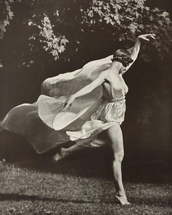 Isadora Duncan, by Arnold Genthe.