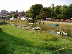 The River Arun at Arundel.